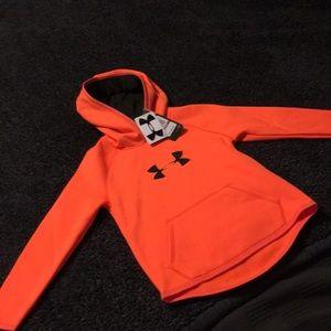 NWT UA Storm hooded sweatshirt